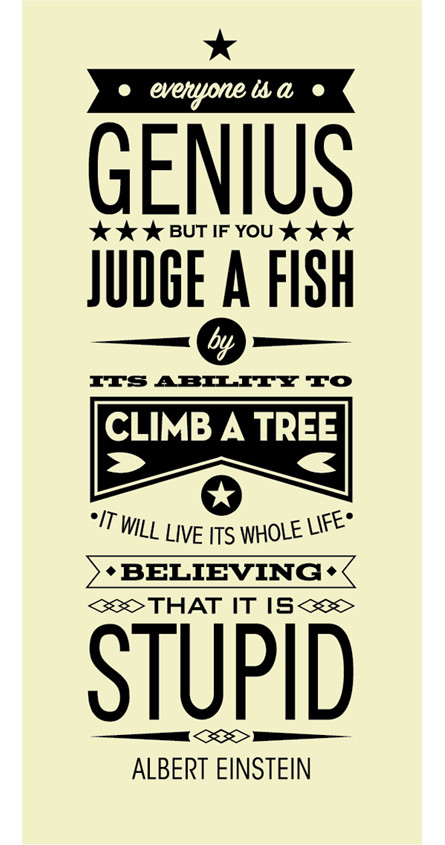 20+ Albert Einstein Fish Quote Poster Pics