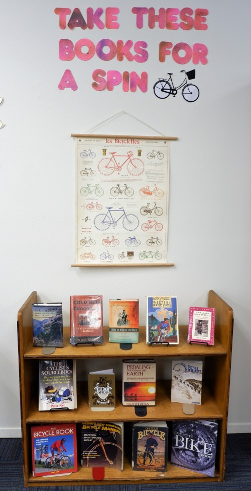 Cycling display