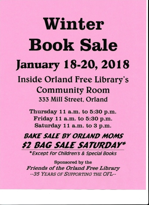 winter book sale 2018