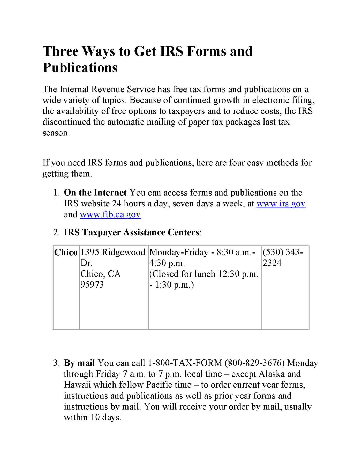 Irs form order images standard form examples tax forms orland free library falaconquin falaconquin
