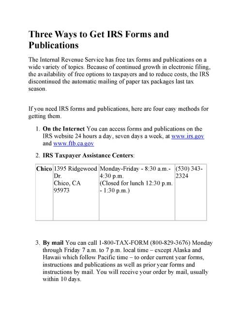 Three Ways to Get IRS Forms and Publications (2)_Page_1