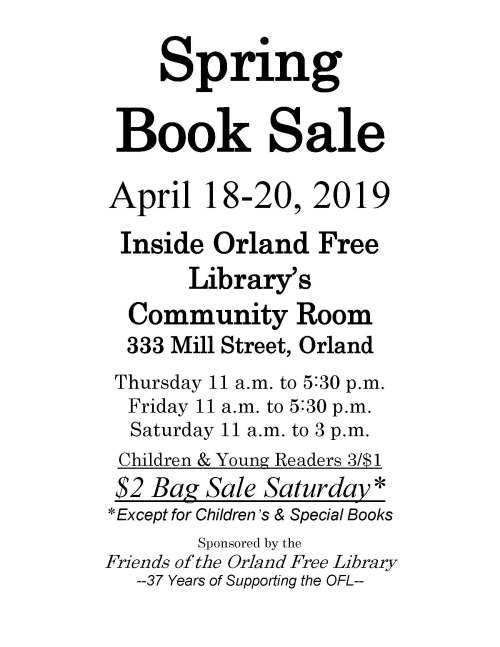 Book Sale - Spring, large